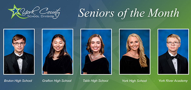 Seniors of the month